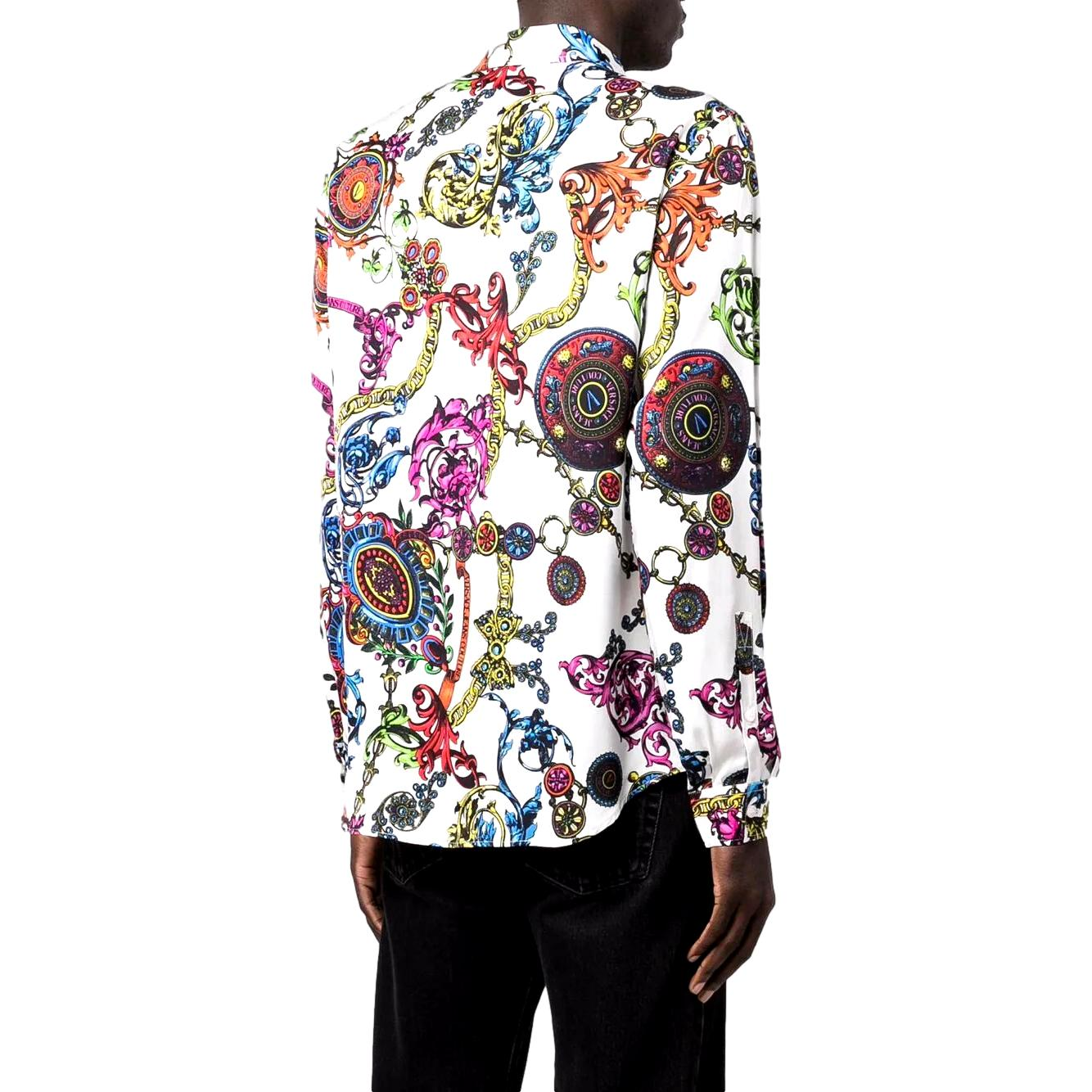 SHIRT WITH REGALIA BAROQUE PRINT VERSACE JEANS COUTURE |  | 71GAL2S0 NS007003