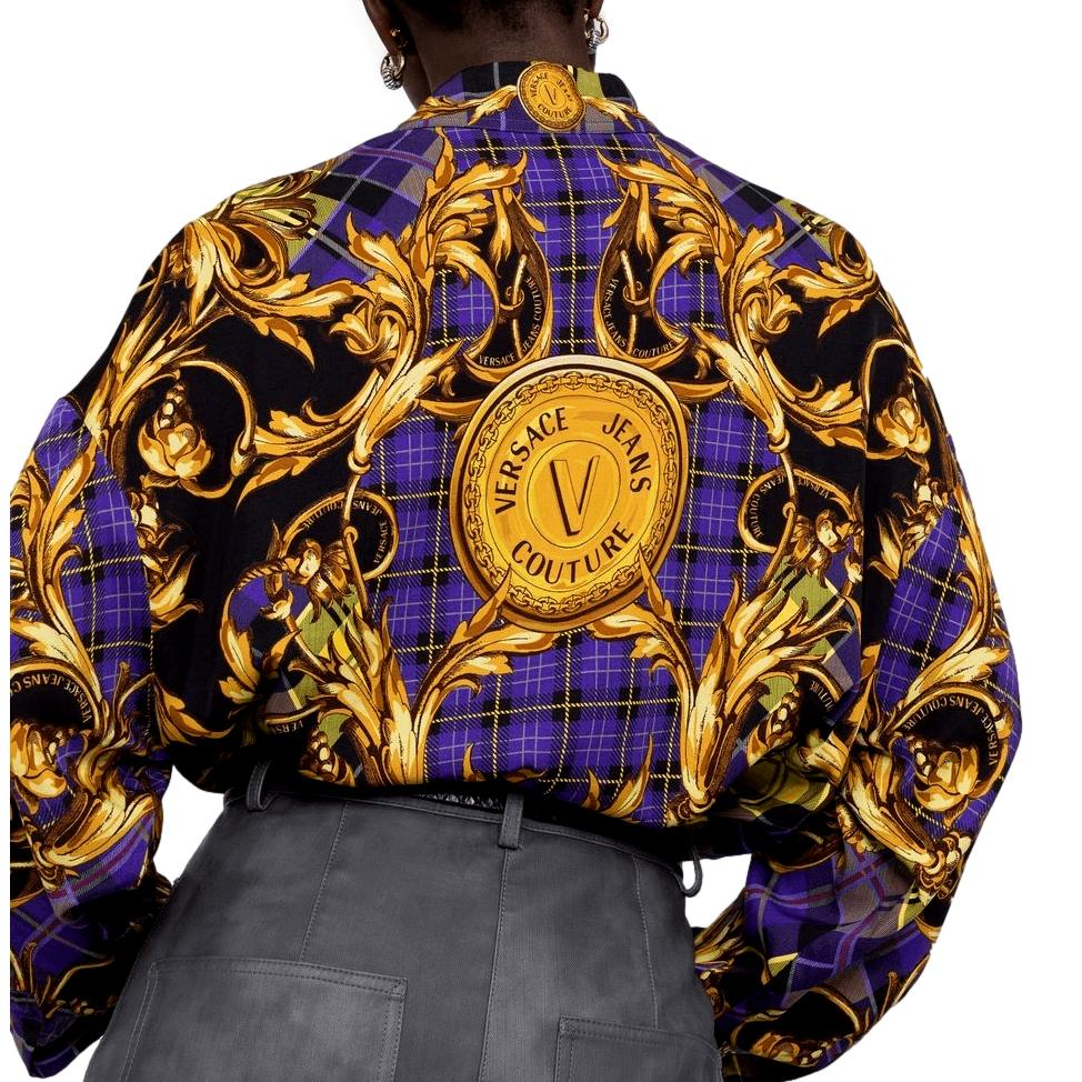 Camicia con stampa Regalia Baroque VERSACE JEANS COUTURE | Camicie | 71HAL2P1 NS039G37