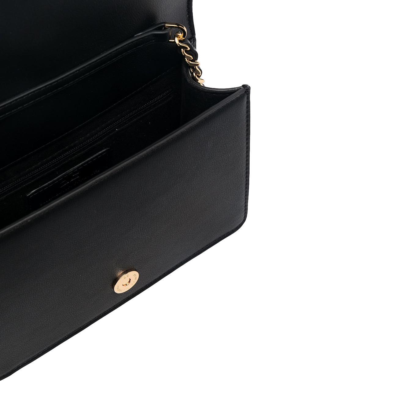Tracollina con logo pendente dorato ELISABETTA FRANCHI   Borsa   BS06A11E2110