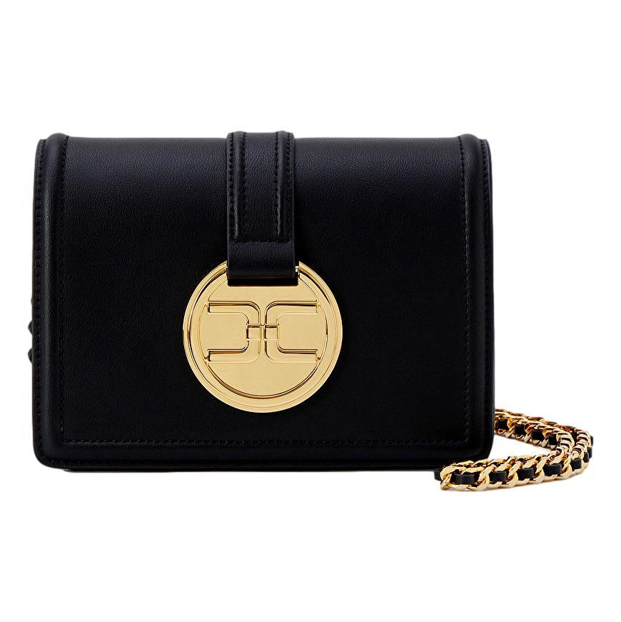 Shoulder bag with golden pendant logo ELISABETTA FRANCHI |  | BS25A11E2110