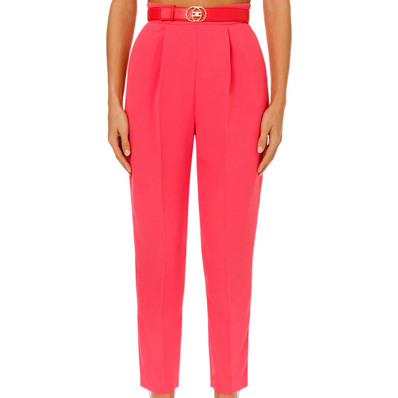 Skinny trousers with belt ELISABETTA FRANCHI      PA38211E2620