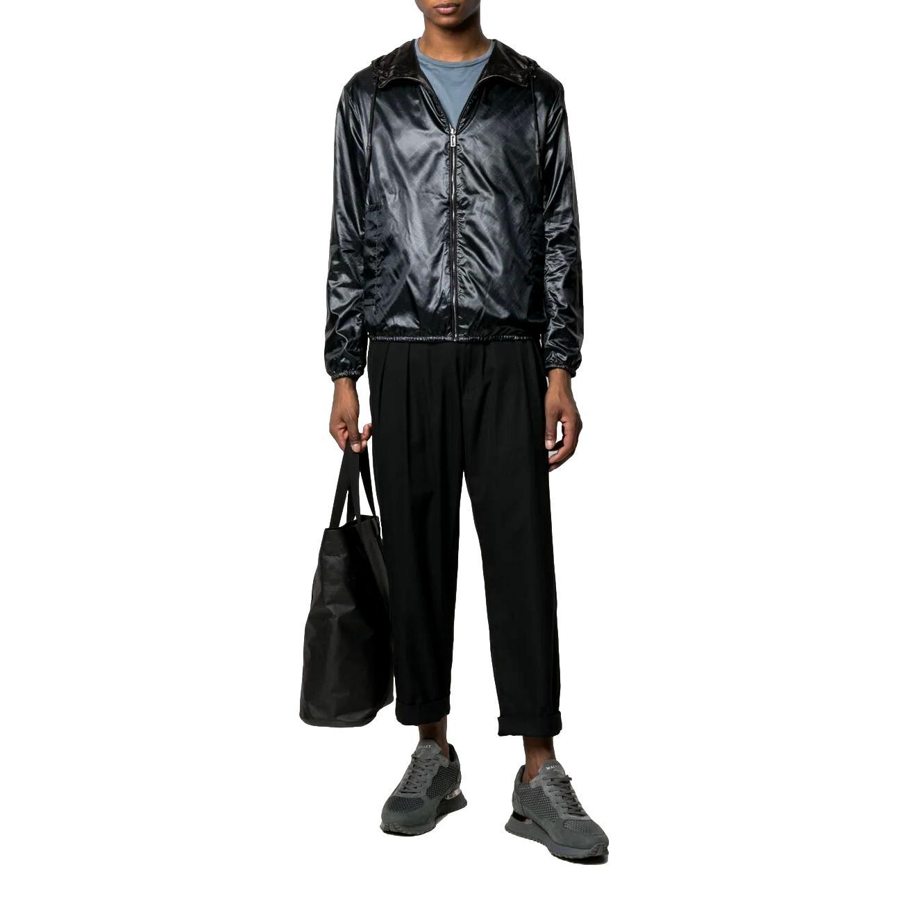 giacca reversibile con cappuccio EMPORIO ARMANI | Giubbotti | 3K1BS3 1NZMZF015