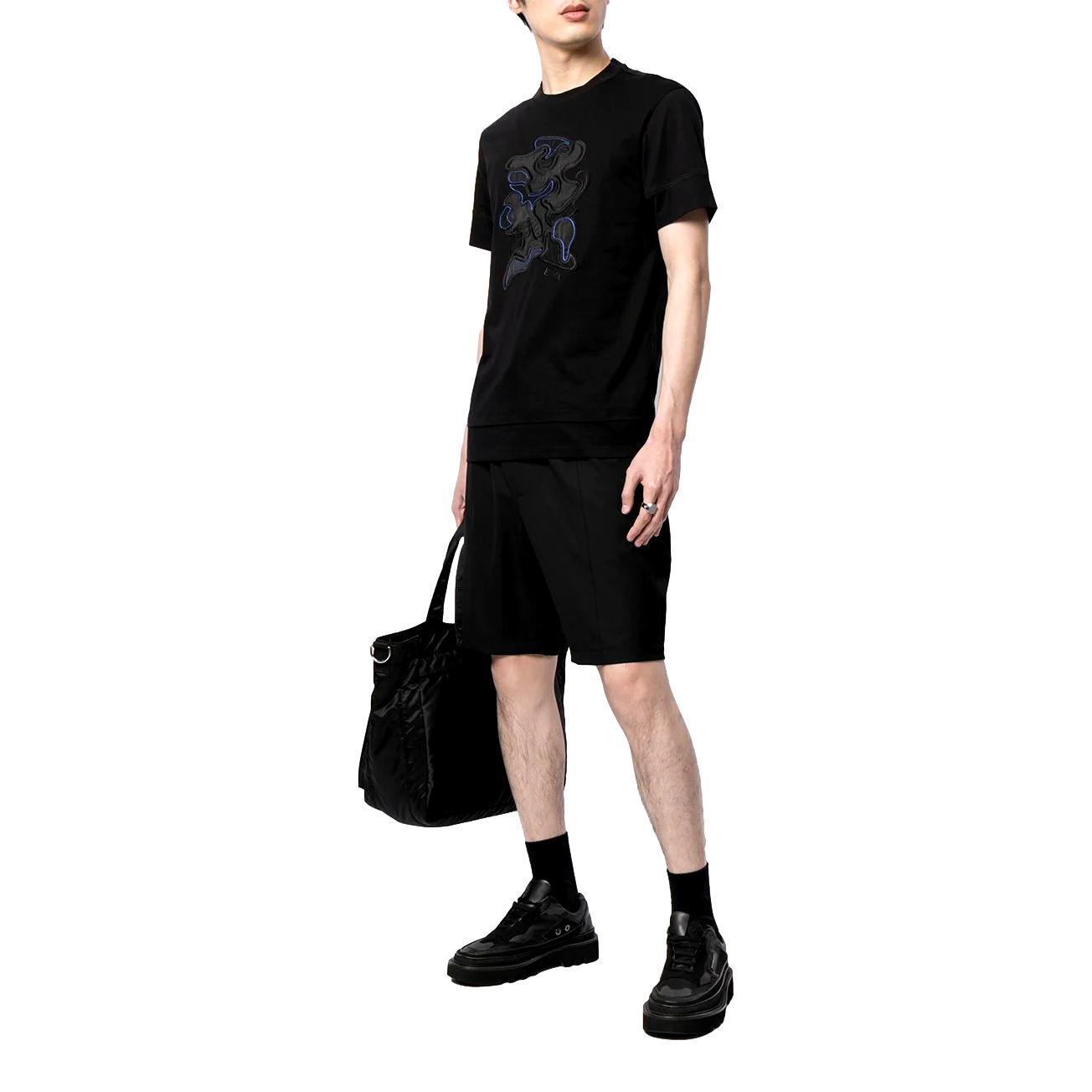 T-shirt con ricamo camouflage EMPORIO ARMANI |  | 3K1TM6 1JDXZ0999
