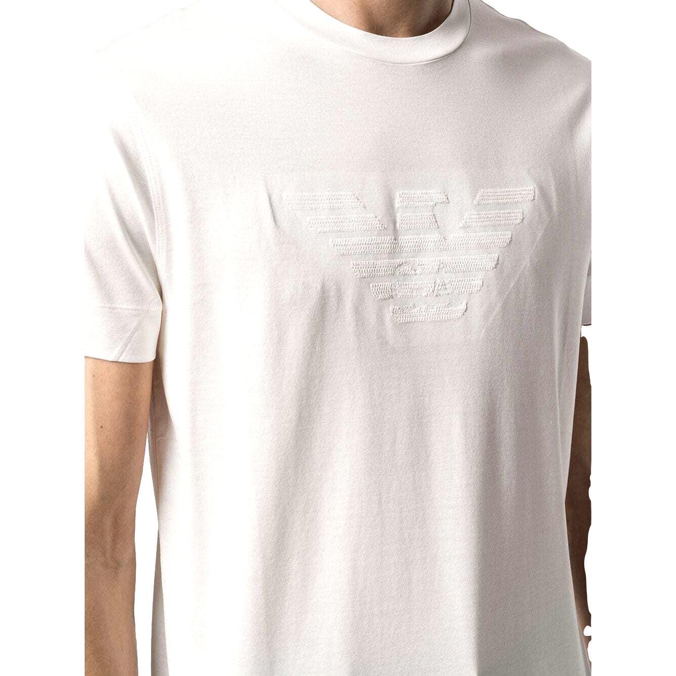 embroidered-logo cotton T-Shirt EMPORIO ARMANI |  | 3K1TR5 1JUVZ0162