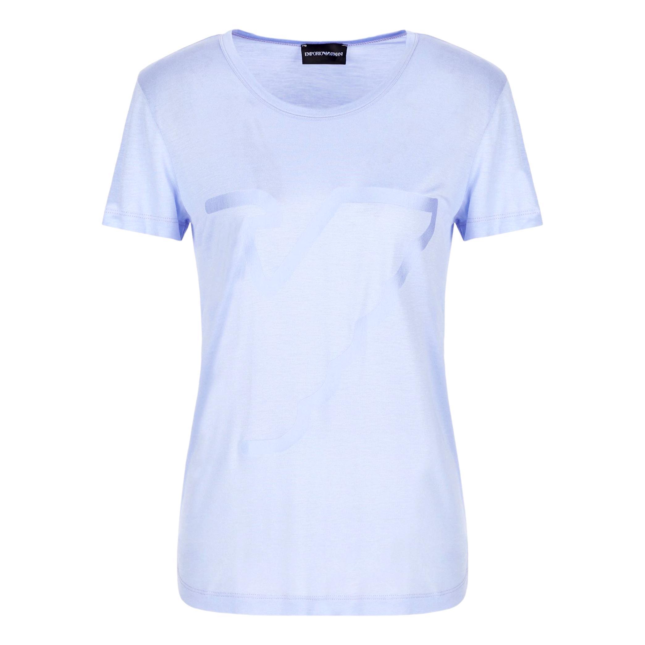 Modal jersey T-shirt with maxi eagle profile EMPORIO ARMANI |  | 3K2T7F 2JRAZ0809