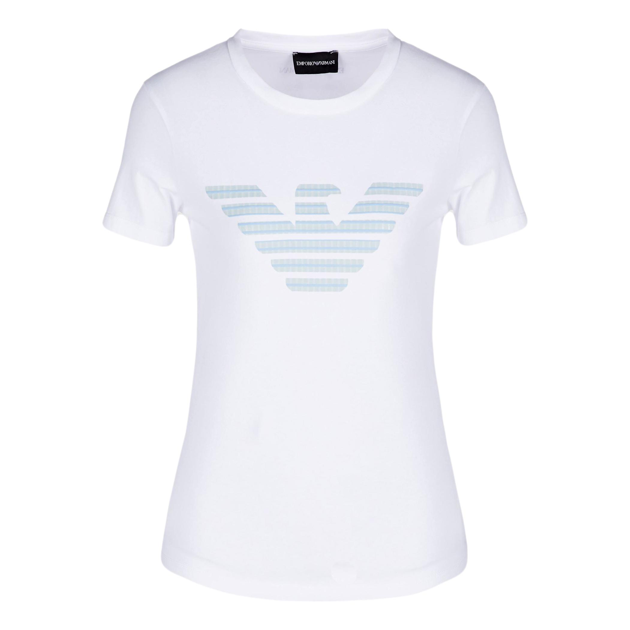 Stretch jersey T-Shirt with fantasy eagle print EMPORIO ARMANI |  | 3K2T7N 2J07Z0100