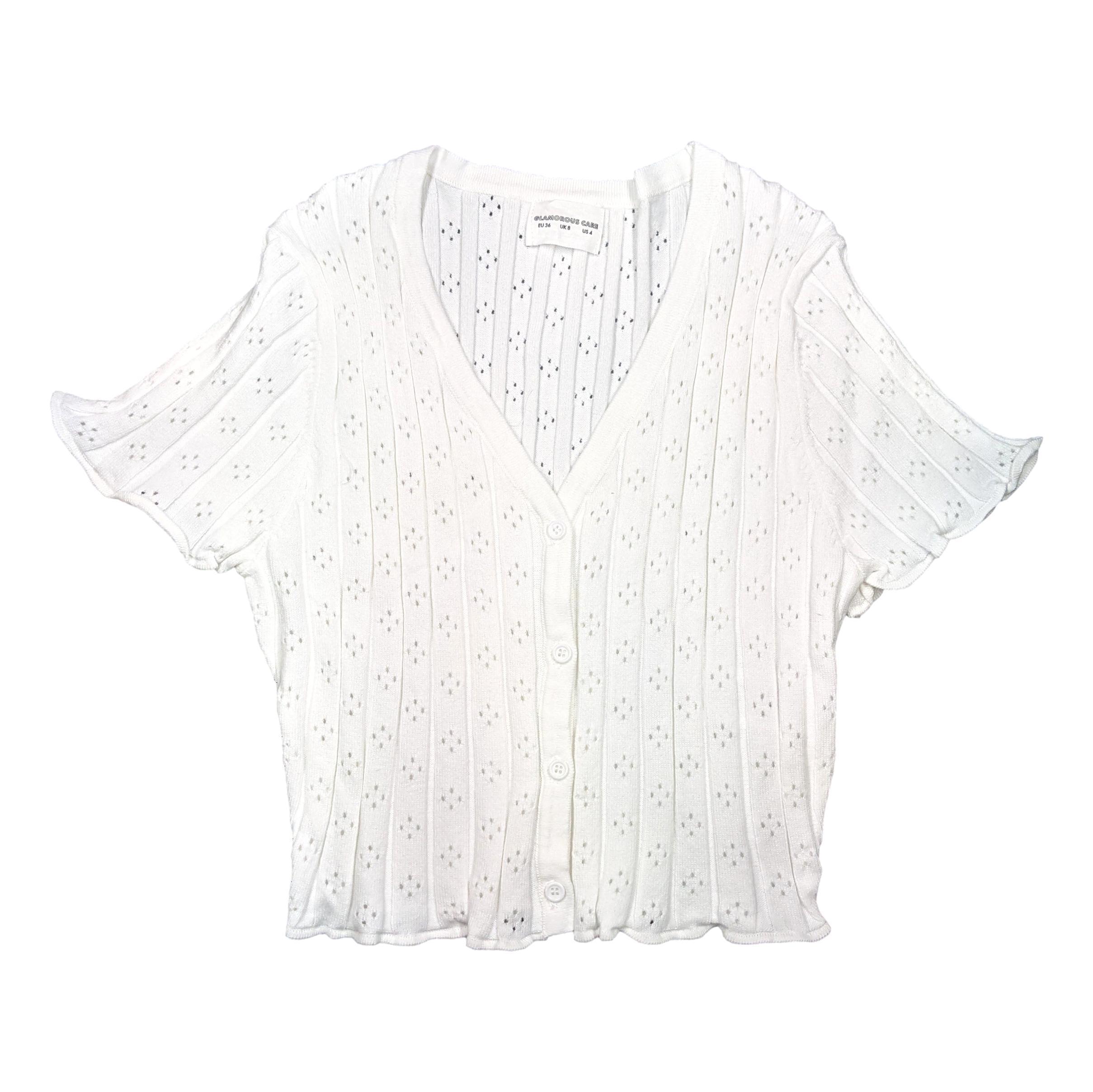 white top GLAMOROUS      CA0117WHITE