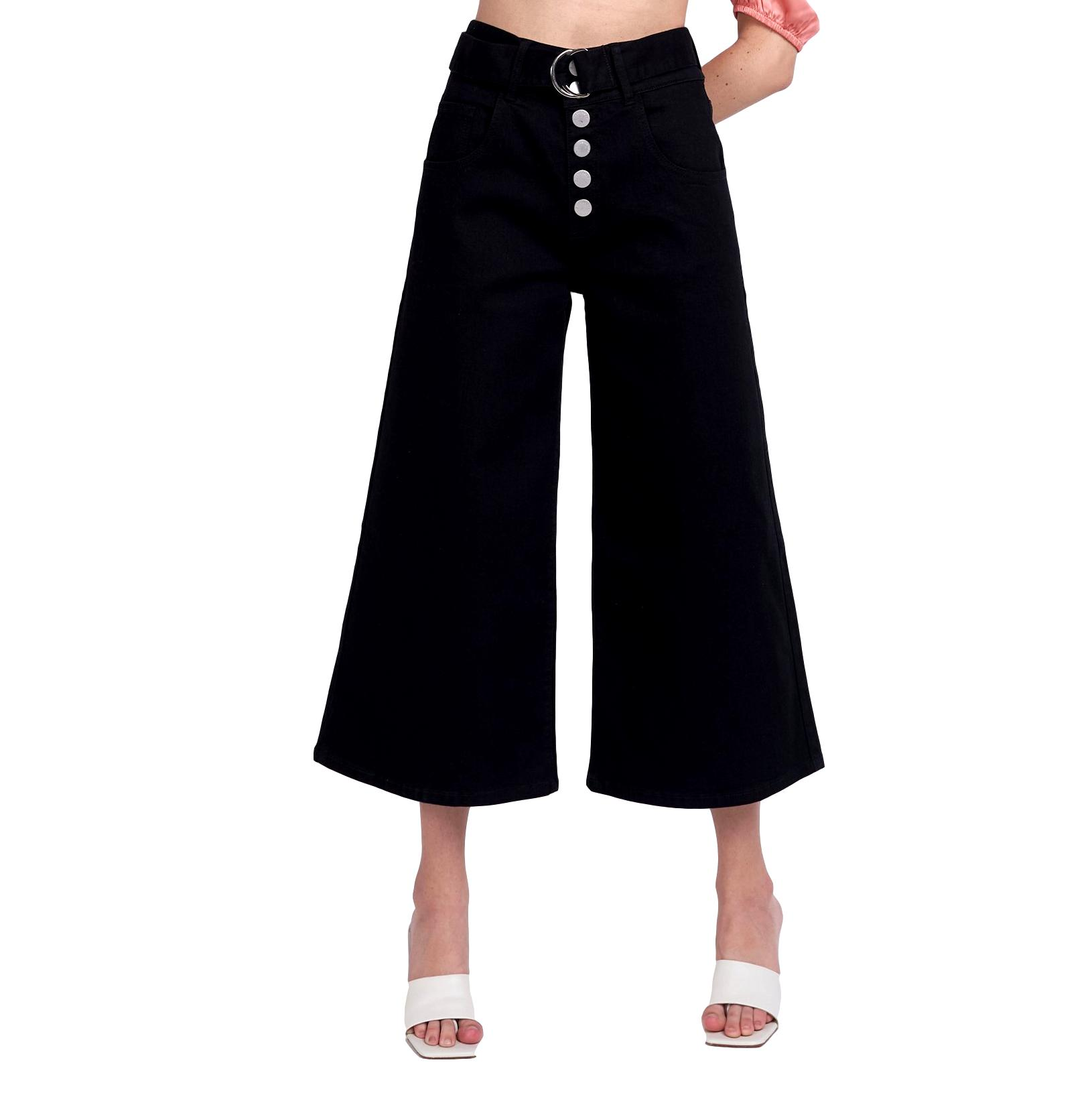 jeans vita alta nero GLAMOROUS | Jeans | CA0120BLACK