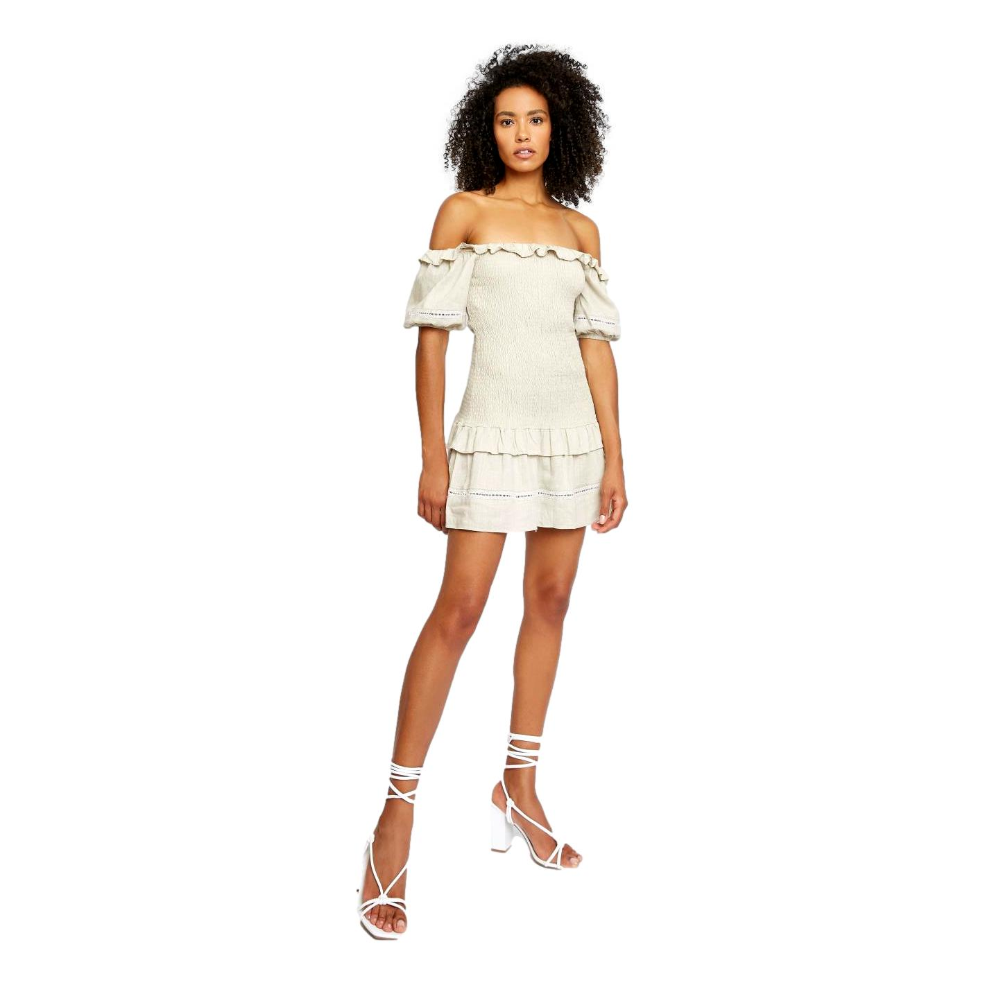 mini dress GLAMOROUS |  | CK6052OFF WHITE