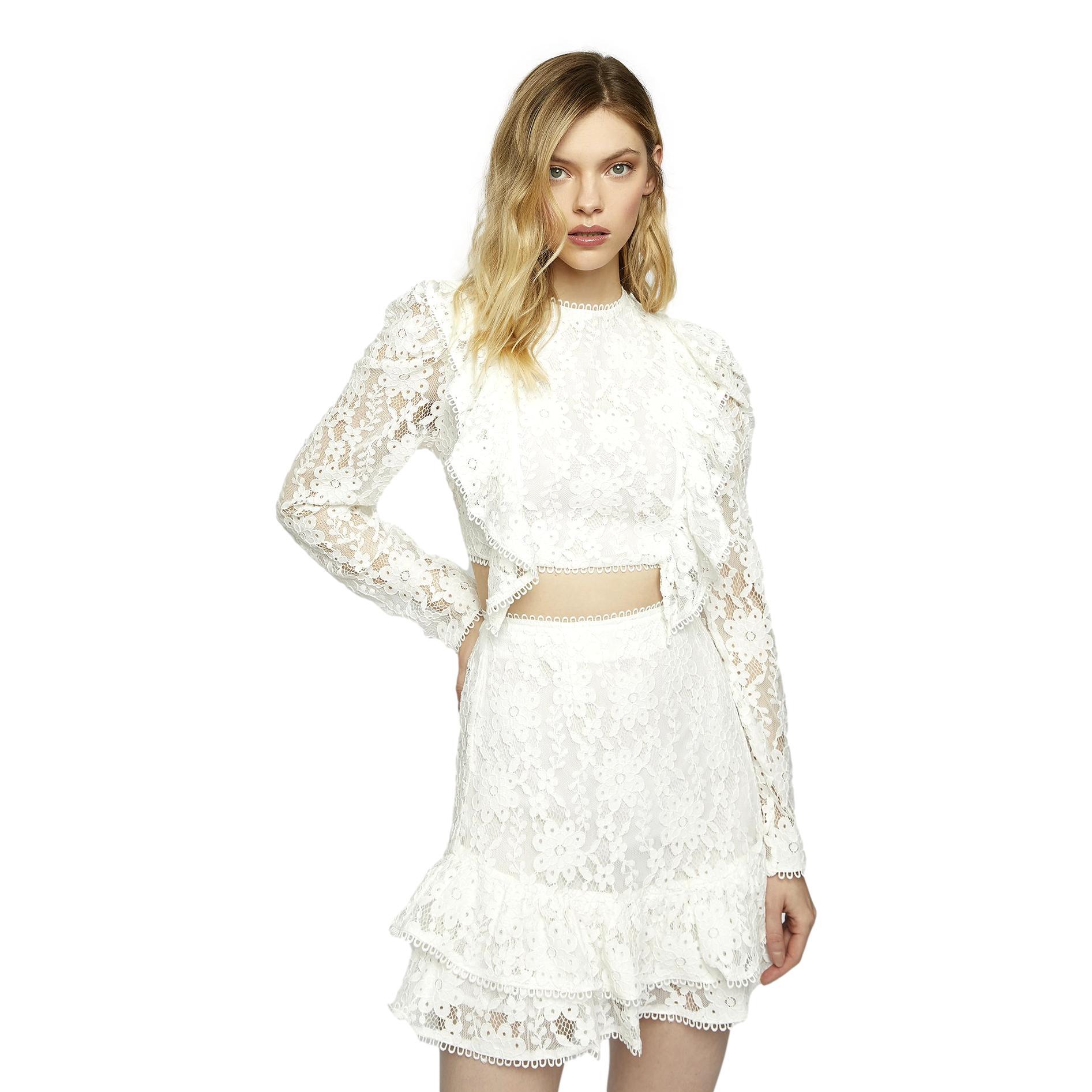 lace skirt GLAMOROUS |  | GC0382WHITE