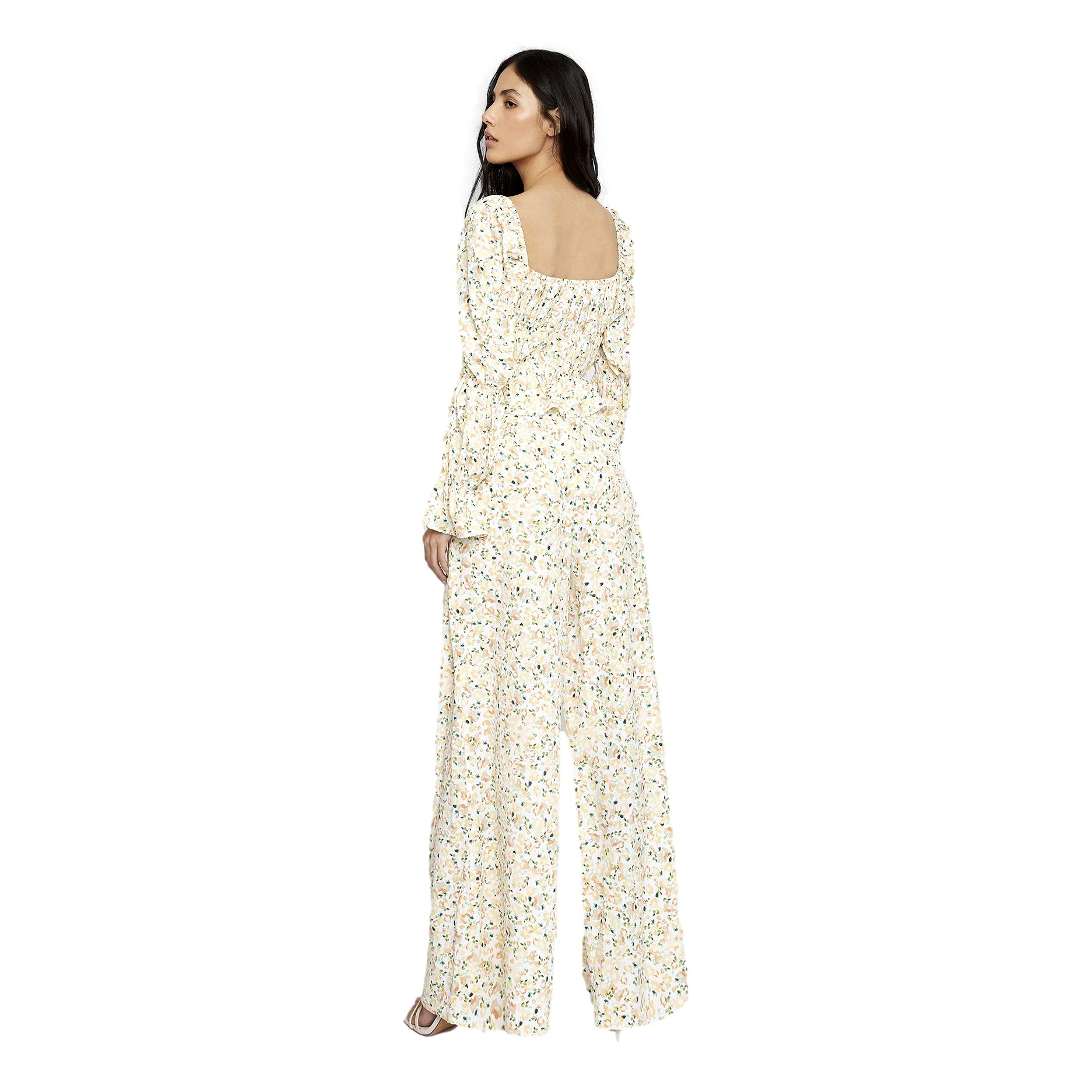 White orange floral trousers GLAMOROUS |  | KA6803ORANGE