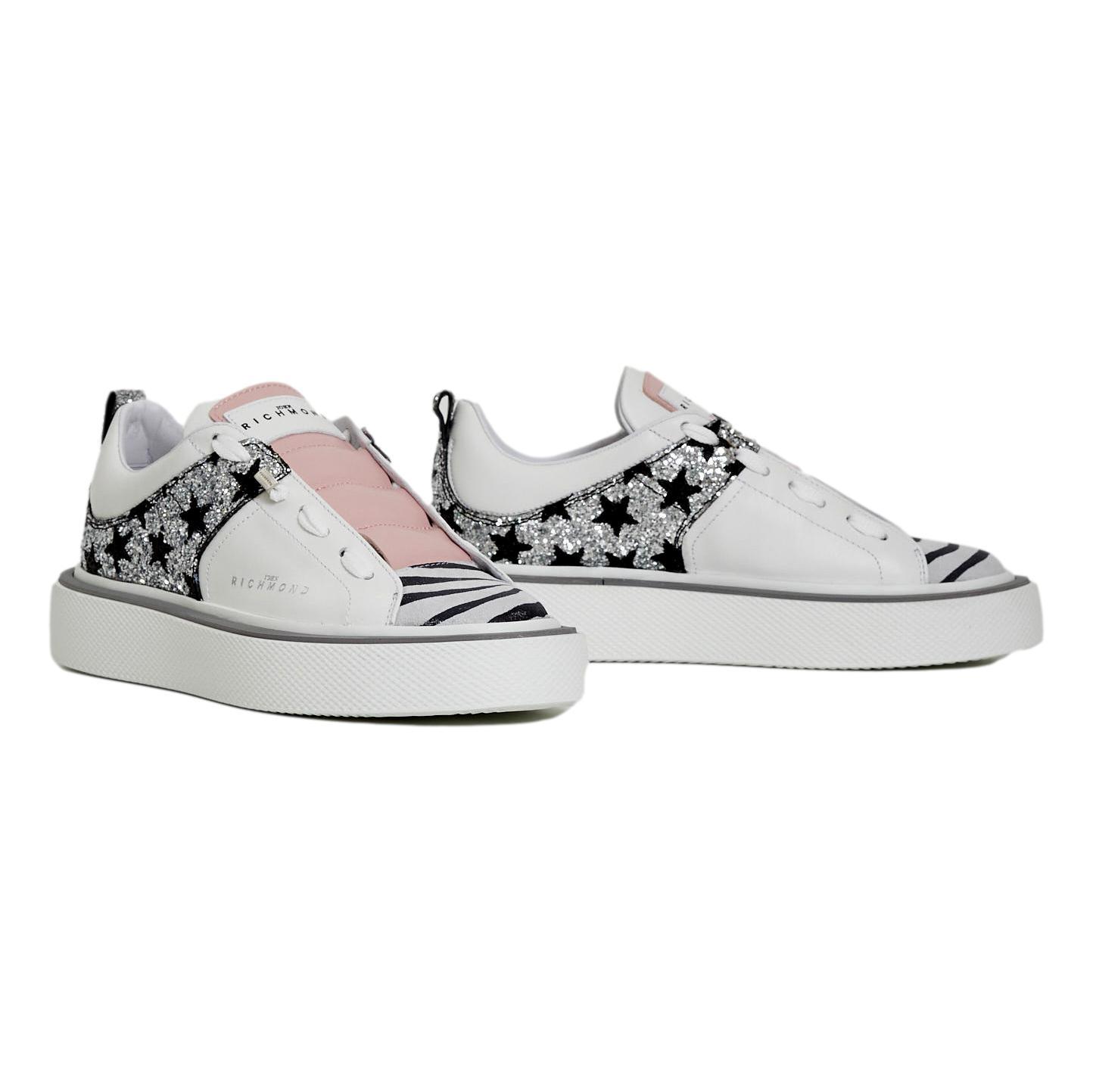 sneakers glitter and stars RICHMOND JOHN      10266A