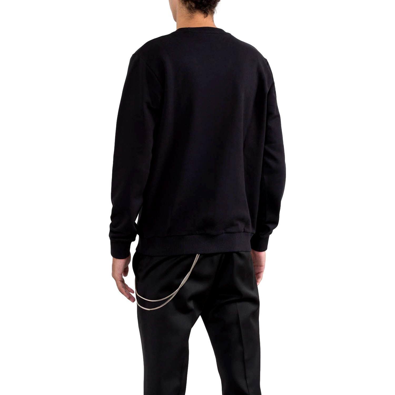 sequin-embellished logo sweatshirt moranhirt RICHMOND JOHN |  | RMP21003FEA8BLACK