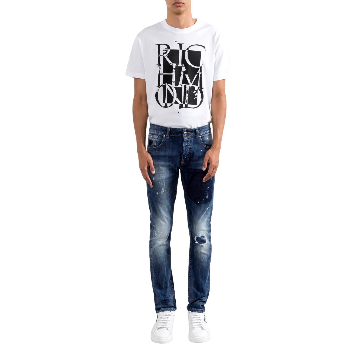 T-SHIRT oklabia RICHMOND JOHN | T-shirt | RMP21022TSA8WHITE