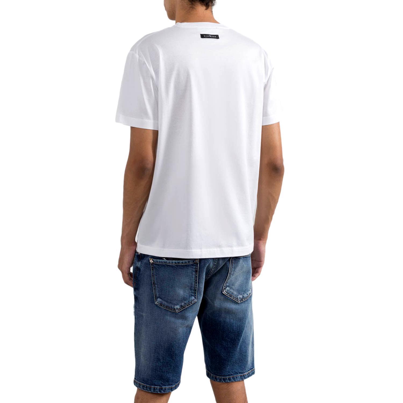 logo-print short-sleeved T-shirt winkusa RICHMOND JOHN      RMP21024TSA8WHITE