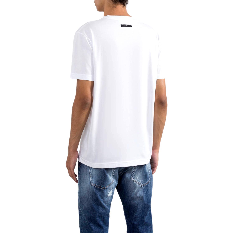 logo print T-shirt  sallyanne RICHMOND JOHN |  | RMP21078TSA8WHITE
