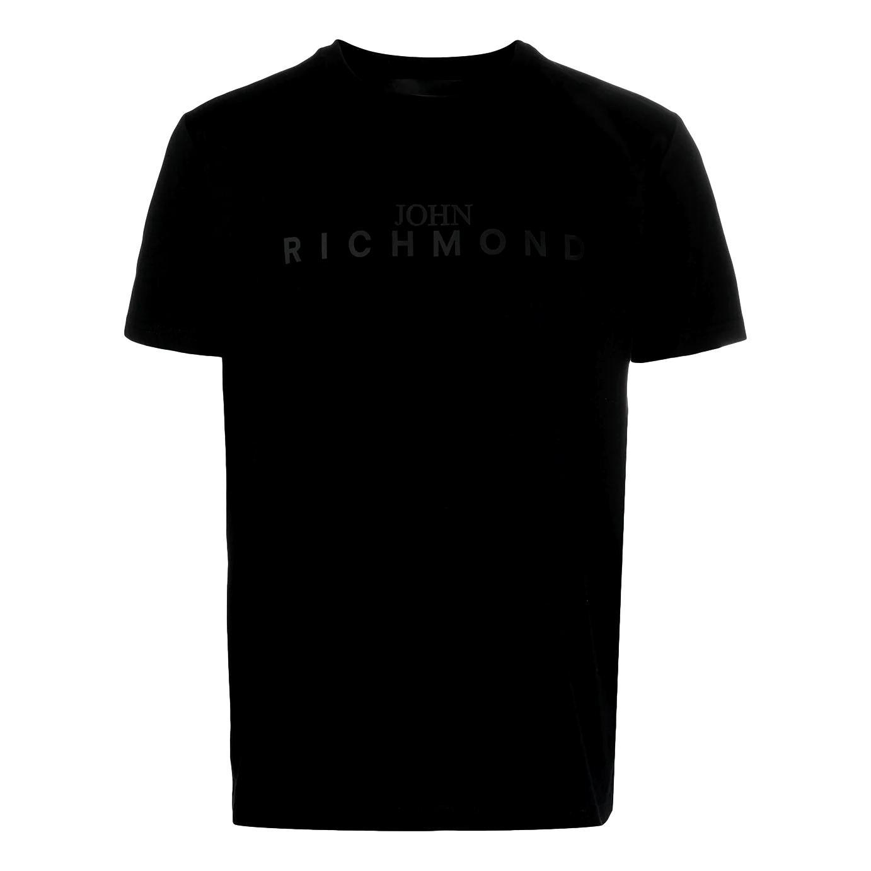 t-shirt federick RICHMOND JOHN      RMP21182TSHBBLACK