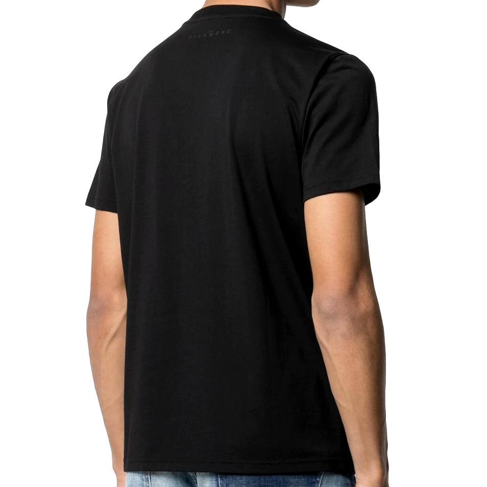 t-shirt federick RICHMOND JOHN | T-shirt | RMP21182TSHBBLACK