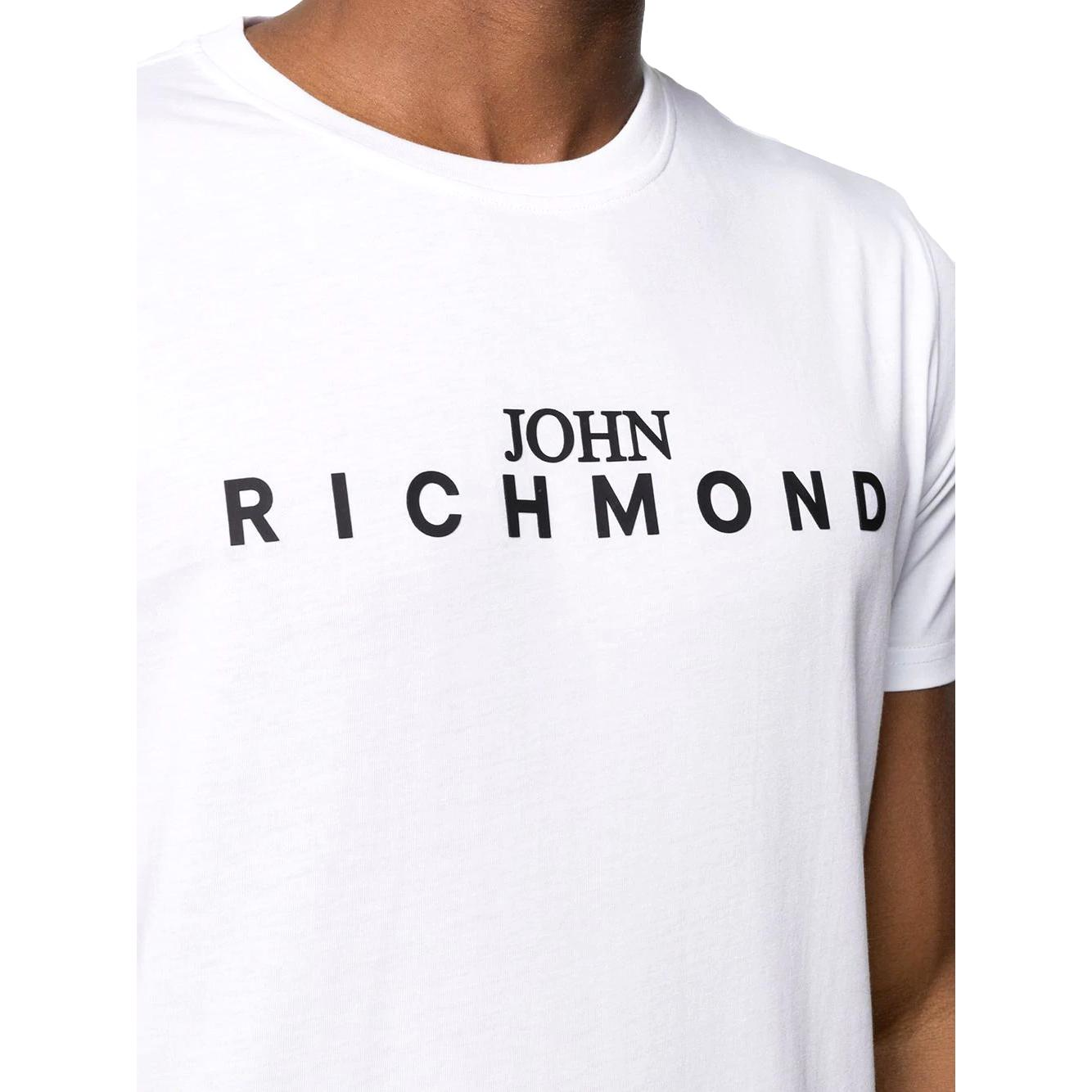 t-shirt federick RICHMOND JOHN | T-shirt | RMP21182TSHBWHITE