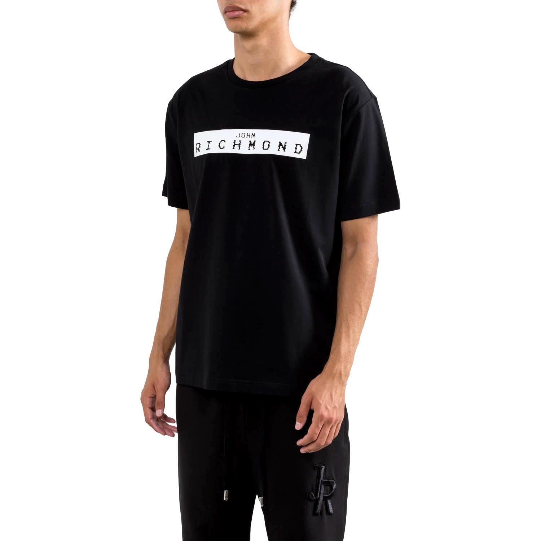 t-shirt trebe RICHMOND JOHN | T-shirt | RMP21200TSXXBLACK