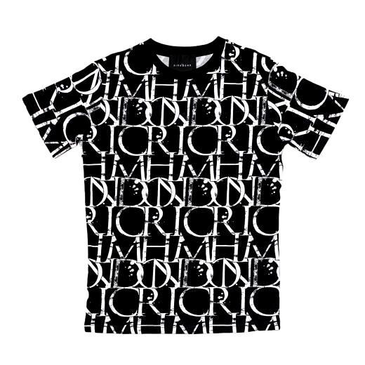 t-shirt harbori RICHMOND JOHN   T-shirt   RMP21211TSHBGR.BLK/WHT