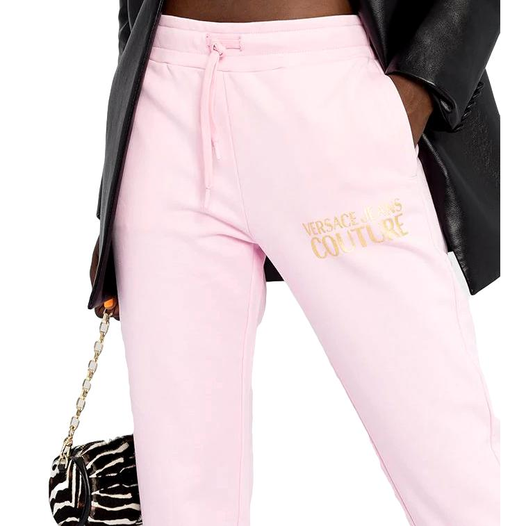 logo print cotton track trousers VERSACE JEANS COUTURE |  | A1HWA1TA 30318402