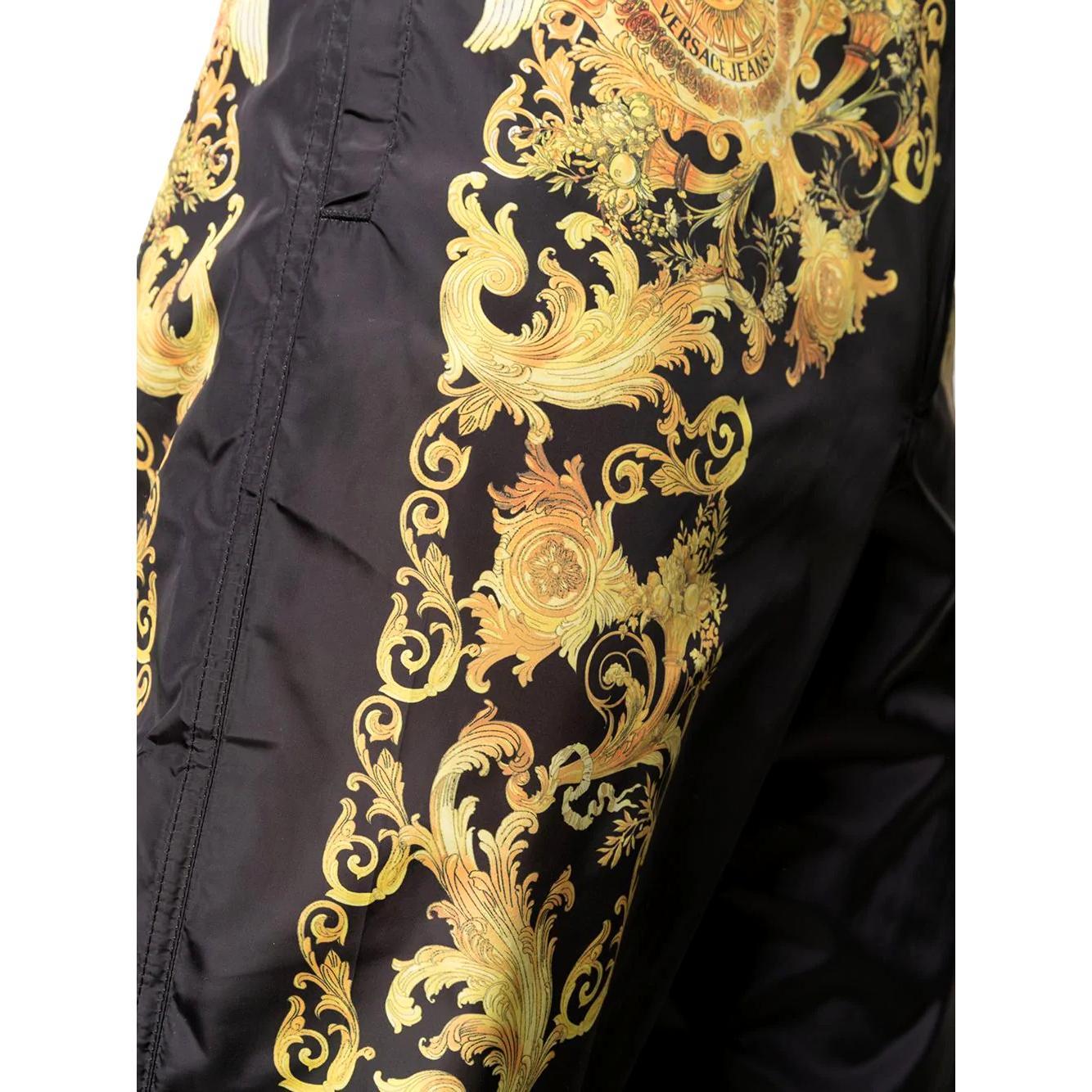 Barocco print track trousers VERSACE JEANS COUTURE | Pantaloni | A2GWA1B2 25188899