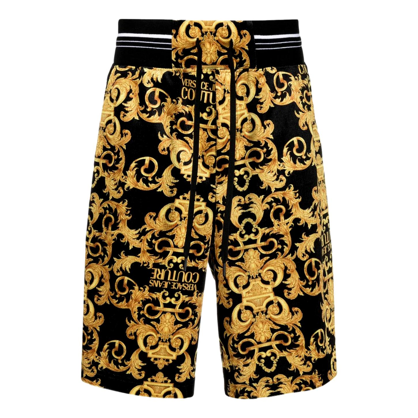 logo baroque-print shorts VERSACE JEANS COUTURE |  | A4GWA127 S0034899