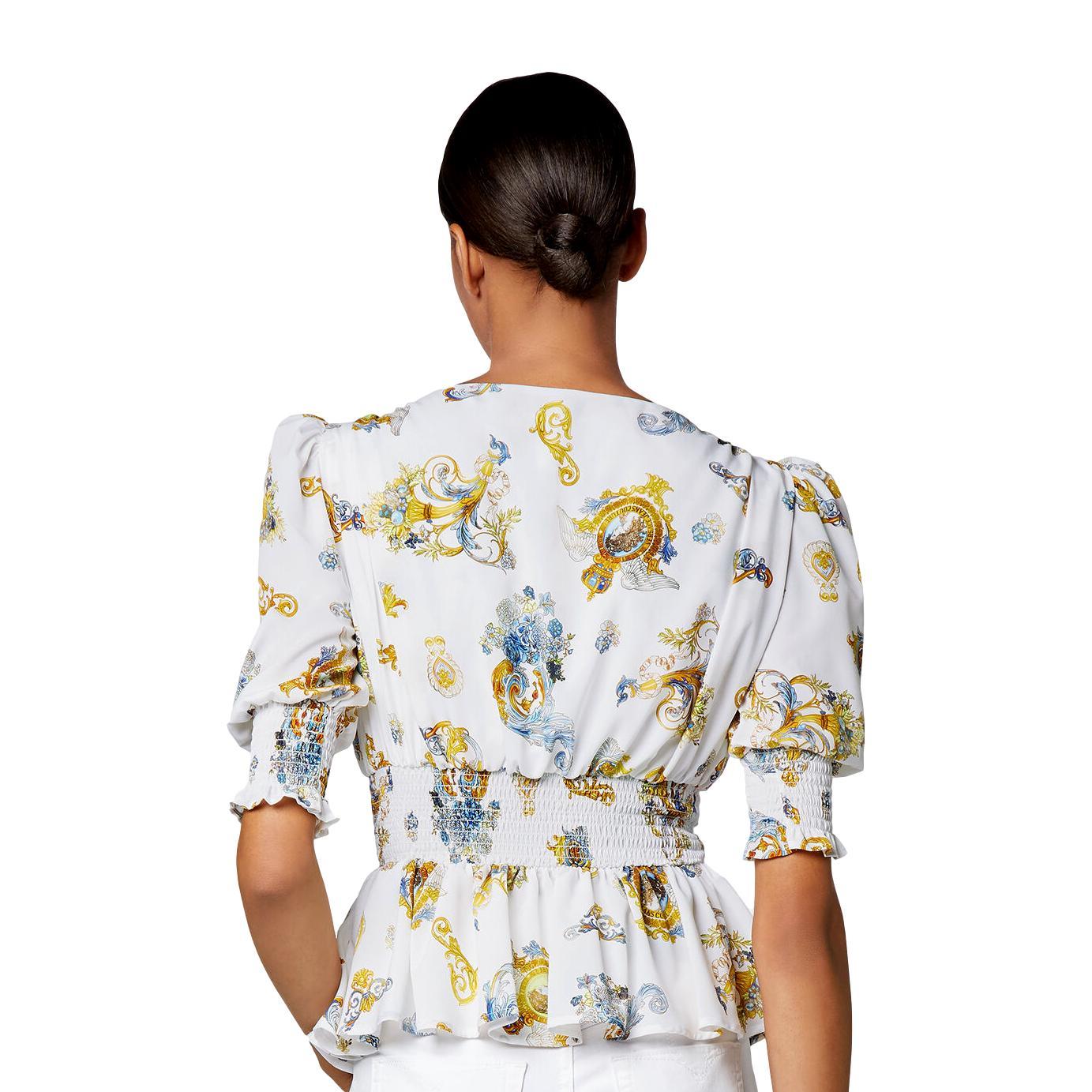 top stampa barocca rococo VERSACE JEANS COUTURE | Camicia | B0HWA626 S0996003