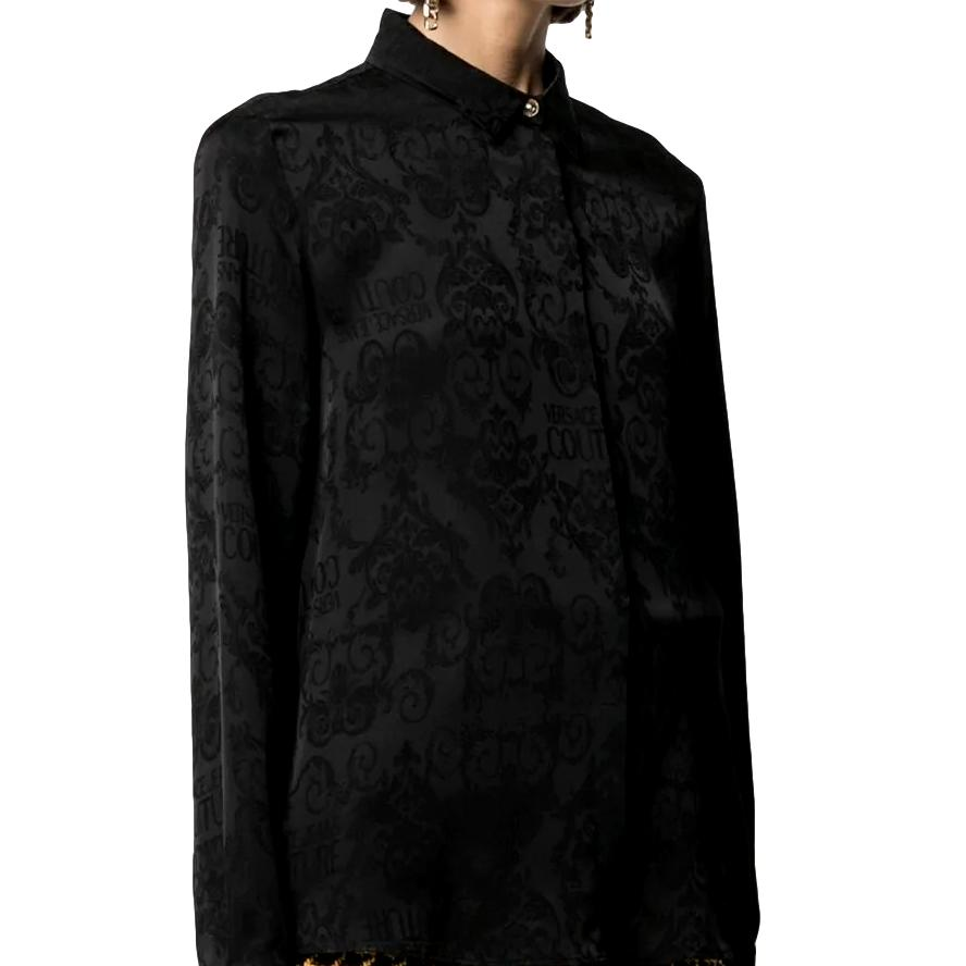 Logo Baroque-pattern shirt VERSACE JEANS COUTURE |  | B0HWA628 09475899