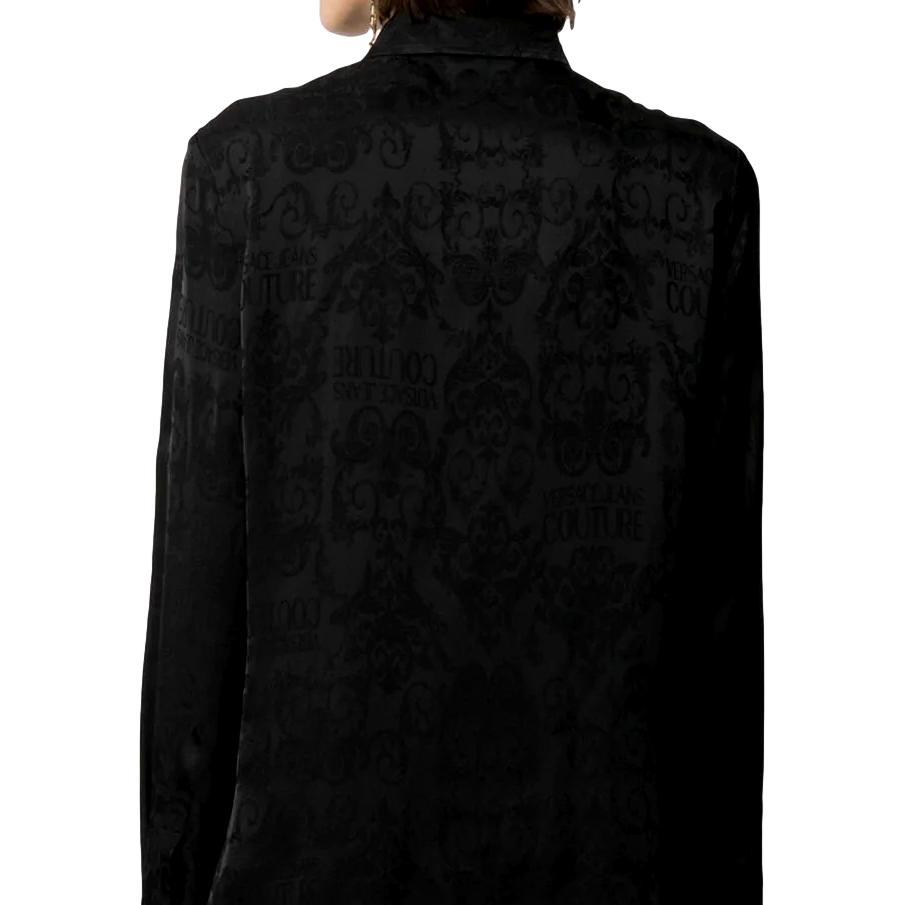 Logo Baroque-pattern shirt VERSACE JEANS COUTURE      B0HWA628 09475899