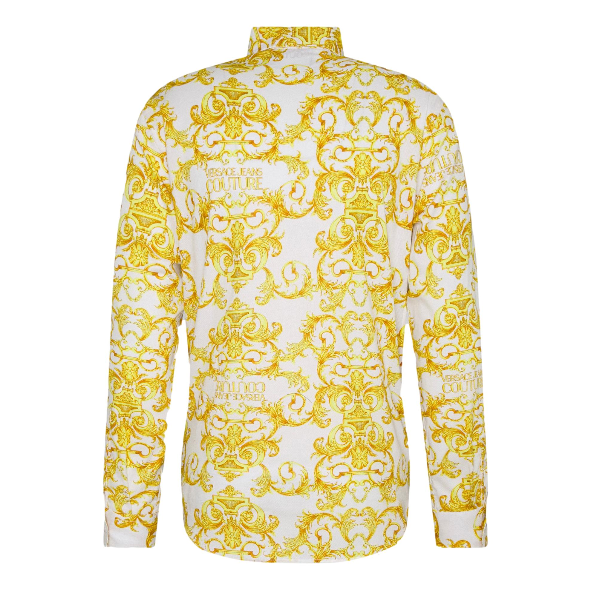 TWILL Barocco-print shirt VERSACE JEANS COUTURE |  | B1GWA6S0  S0152003