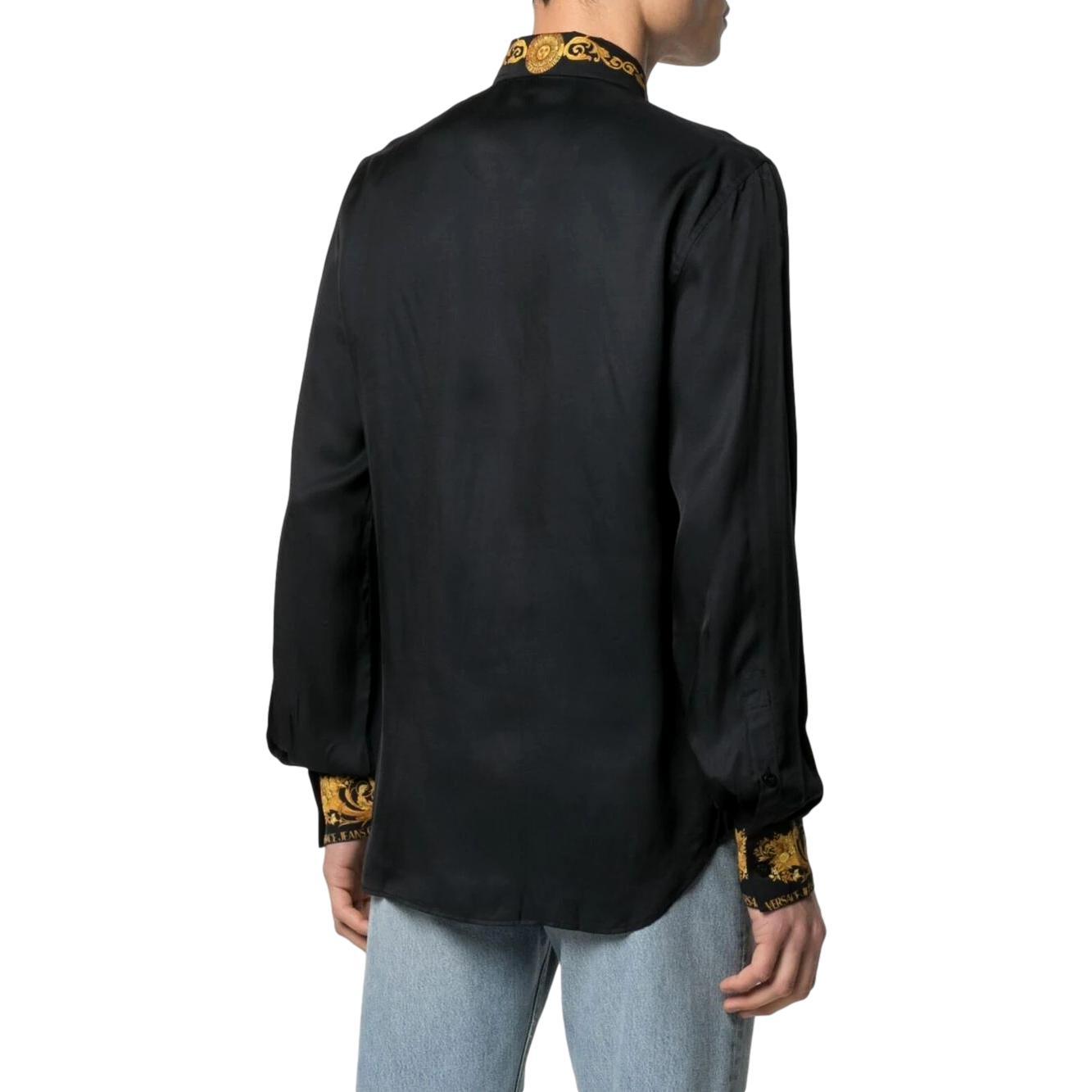 baroque-trim shirt VERSACE JEANS COUTURE |  | B1GWA6S3 07619899