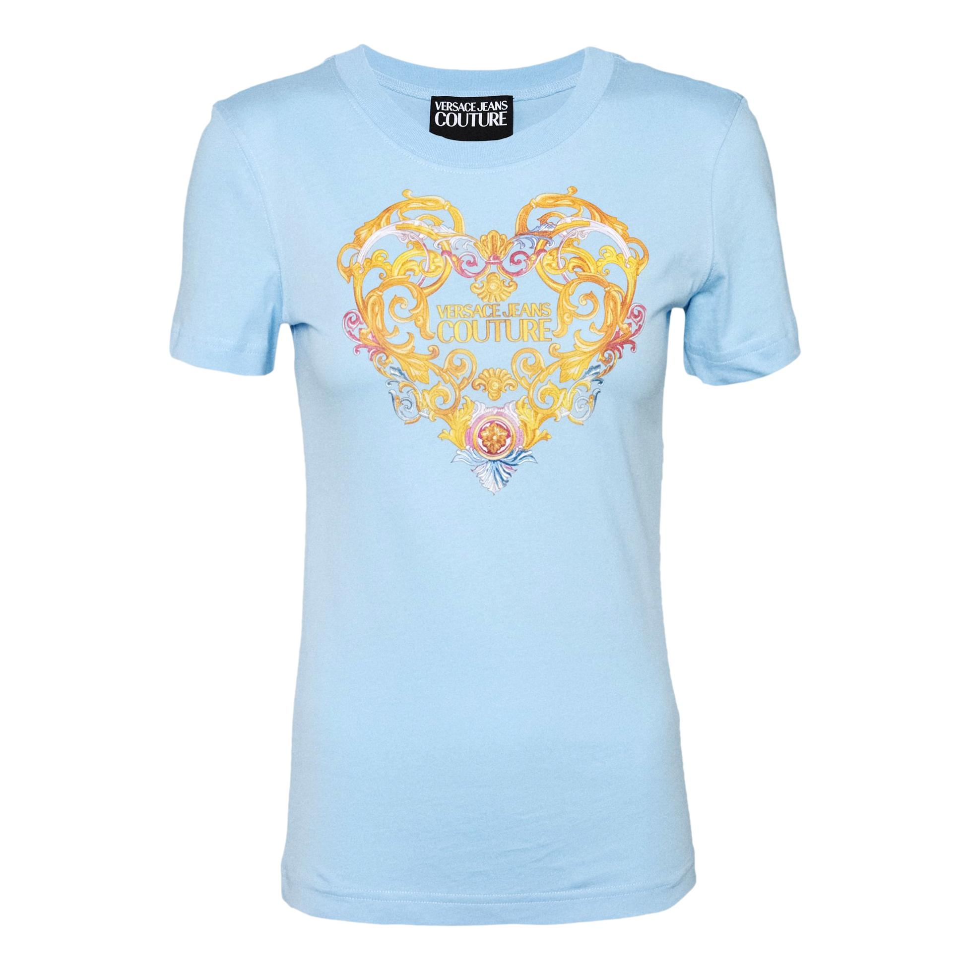 Logo print T-shirt VERSACE JEANS COUTURE |  | B2HWA7PD 30457216