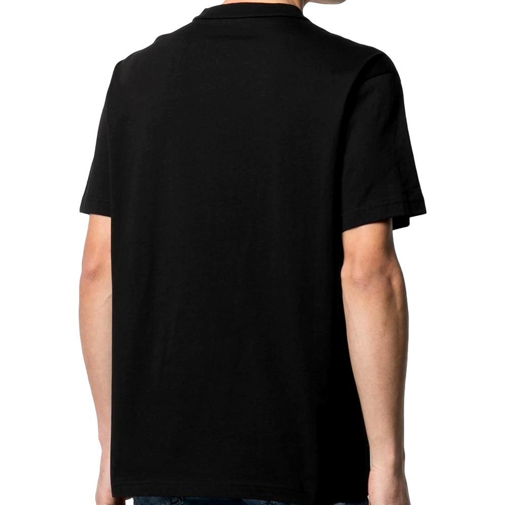 T-shirt con stampa barocca e cristalli VERSACE JEANS COUTURE | T-shirt | B3GWA740 11620899