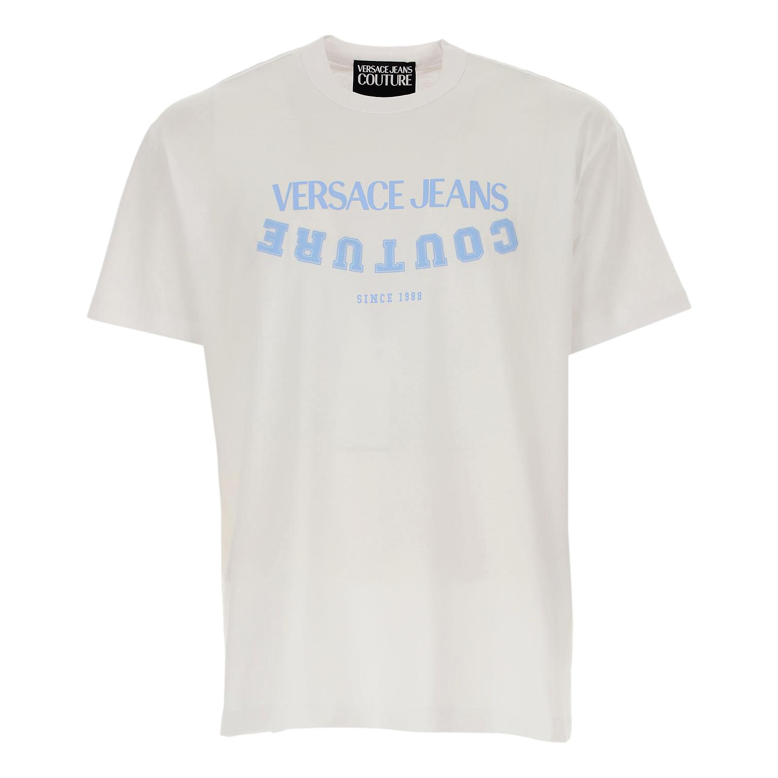 college style t-shirt VERSACE JEANS COUTURE |  | B3GWA7GC 30382003