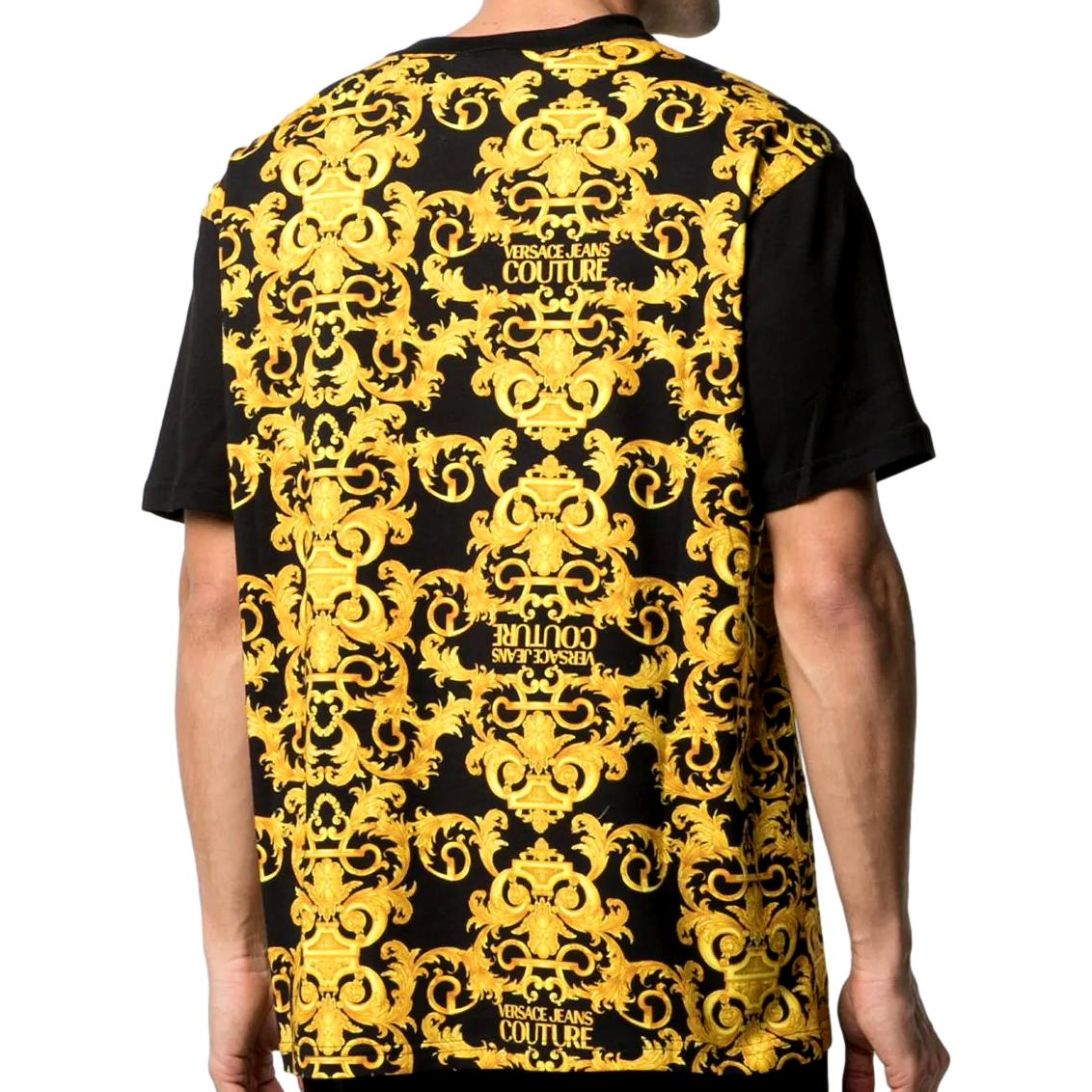Barocco logo-print cotton t-shirt VERSACE JEANS COUTURE |  | B3GWA7R1 S0155899