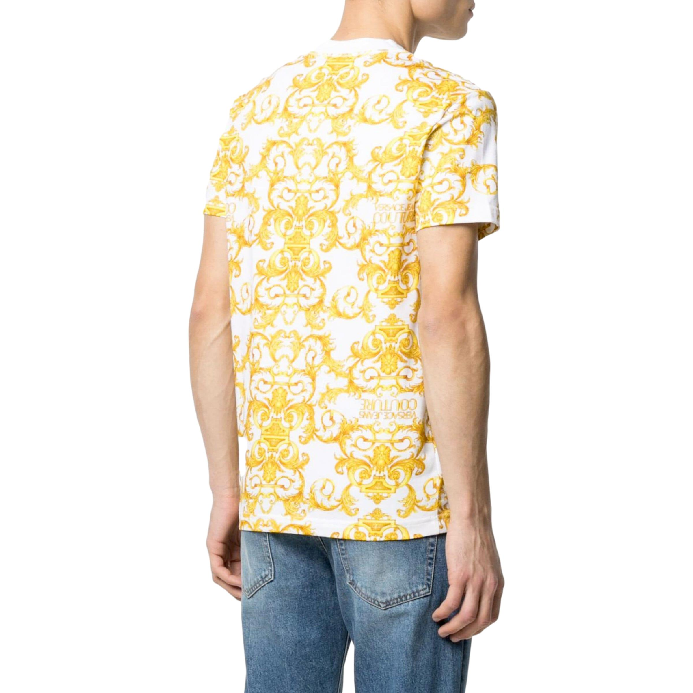 t-shirt stampa barocca VERSACE JEANS COUTURE | T-shirt | B3GWA7S0 S0155003
