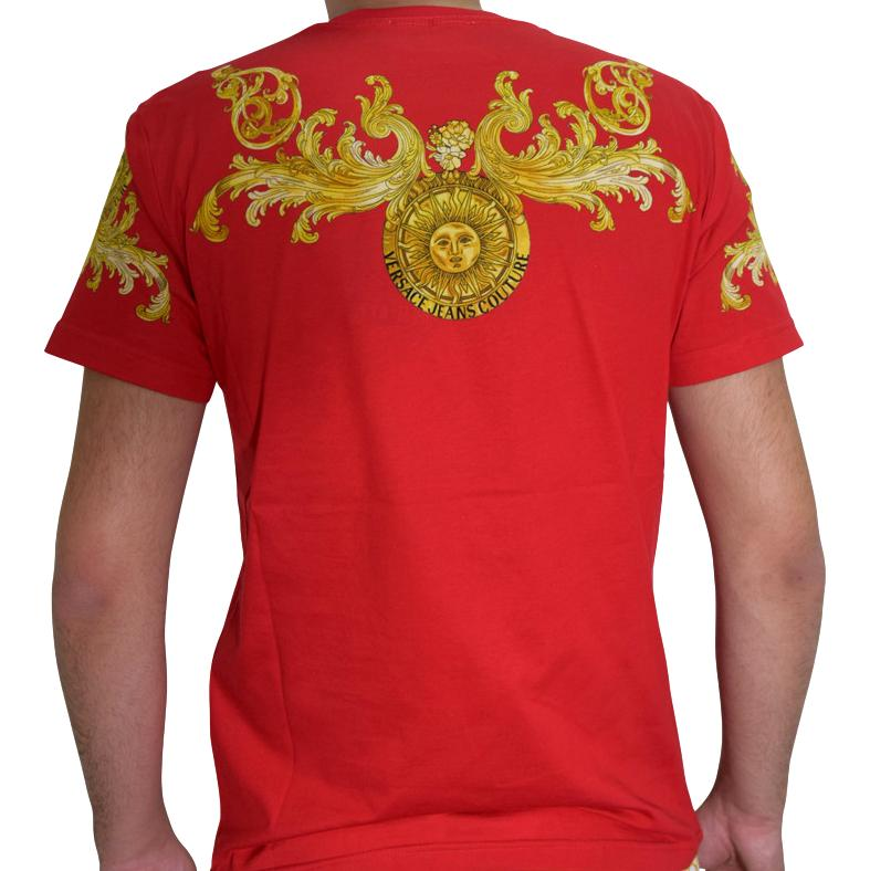 T-shirt con stampa Barocco VERSACE JEANS COUTURE | T-shirt | B3GWA7S1 S0274514