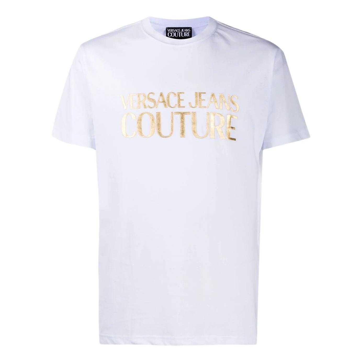 foil logo T-shirt VERSACE JEANS COUTURE |  | B3GWA7TB 30319K41
