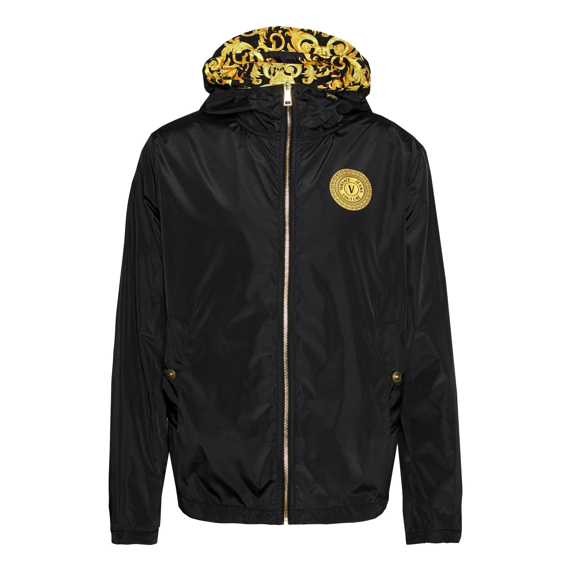 Barocco-print zip-up hooded jacket VERSACE JEANS COUTURE |  | C1GWA9B8 25193K42