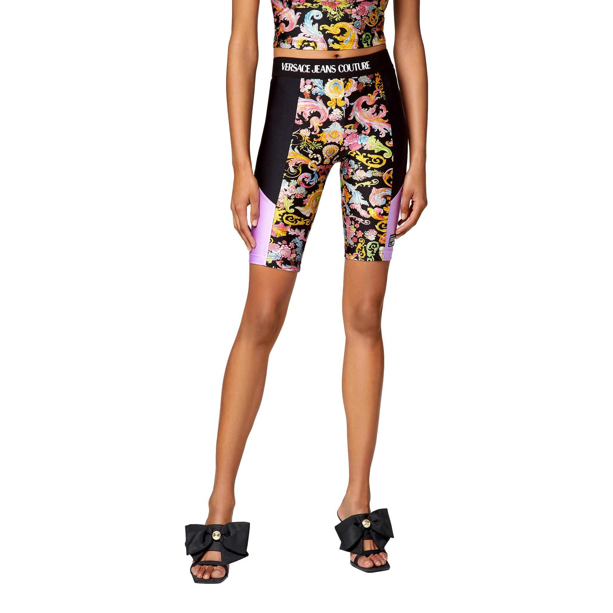 colour-block cycling shorts VERSACE JEANS COUTURE |  | D5HWA162 S0096899
