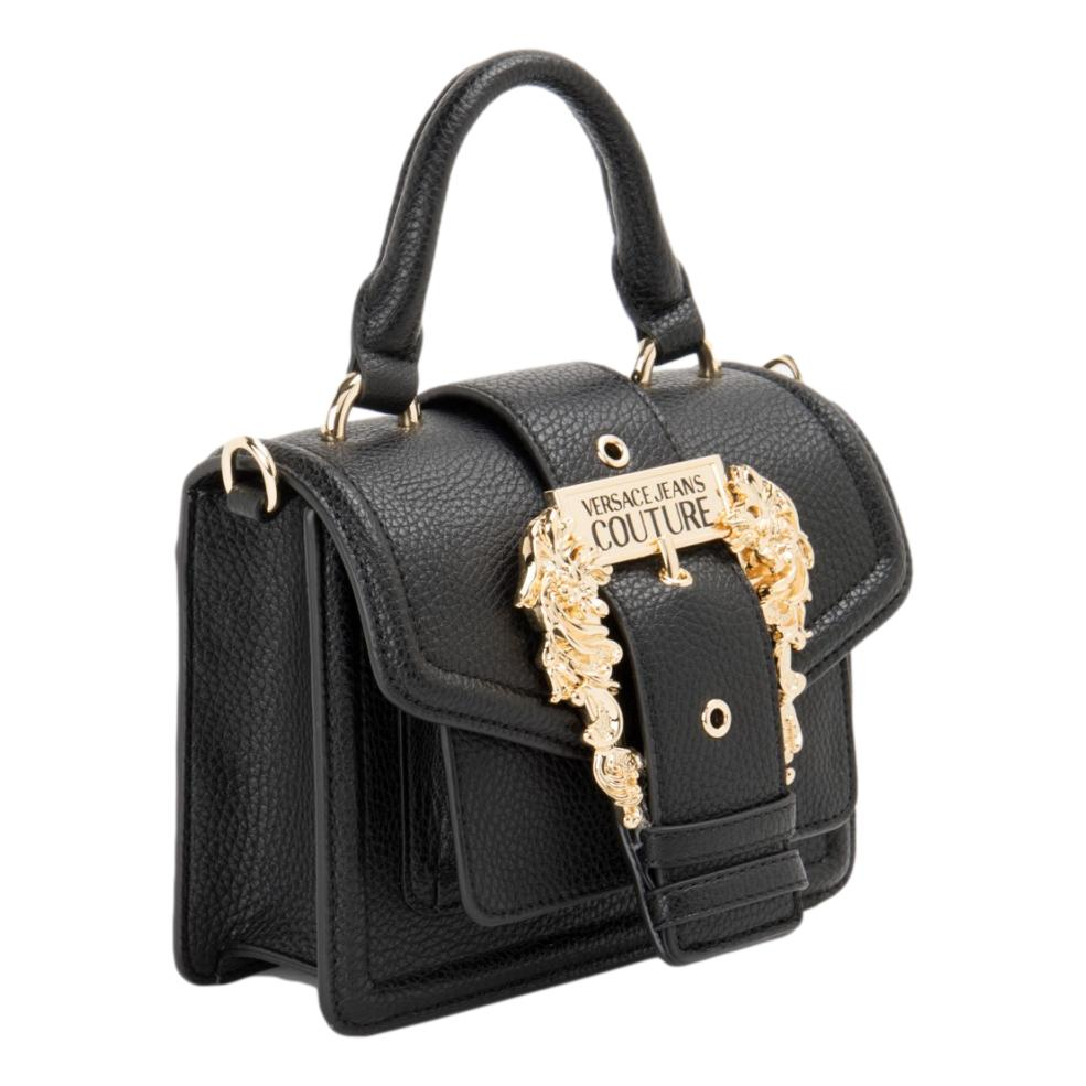 Mini handbag with gold buckle and logo VERSACE JEANS COUTURE |  | E1VWABF3 71578899