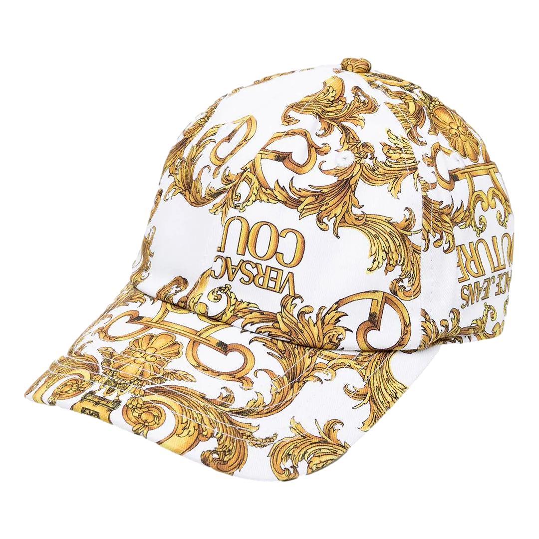 cappello con stampa barocca VERSACE JEANS COUTURE | Cappello | E8YWAK13 80156MCI