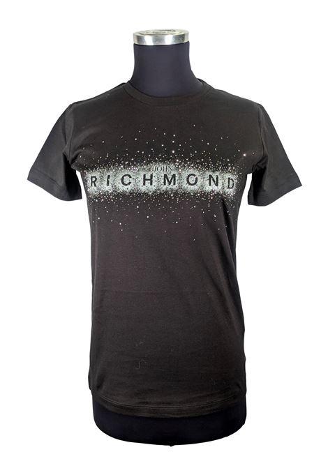 T-SHIRT JOHN RICHMOND RICHMOND JOHN | T-shirt | RWA19138TSDPBLACK