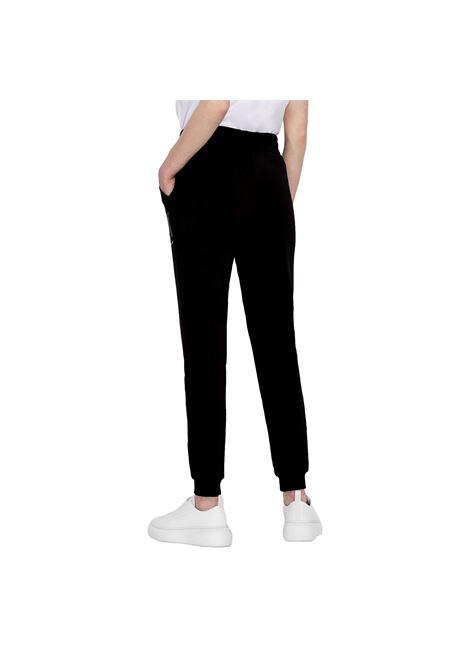 Pantaloni sportivi in felpa di cotone con borchiette ARMANI EXCHANGE | Pantaloni | 8NYPDX YJ68Z1200
