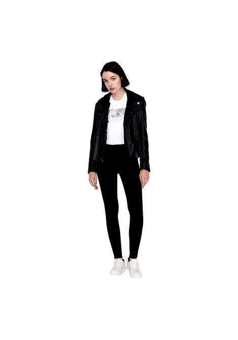 T-shirt slim fit con paillettes applicate ARMANI EXCHANGE | T-shirt | 8NYTDL YJ73Z6110