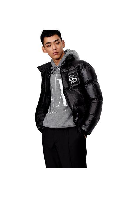 Down-filled puff jacket with Icon period logo ARMANI EXCHANGE |  | 8NZBP2 ZNYNZ1200