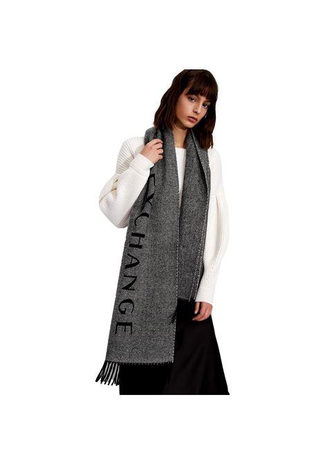 Sciarpa in lana con logo ARMANI EXCHANGE | Sciarpe | 944114 1A11404221