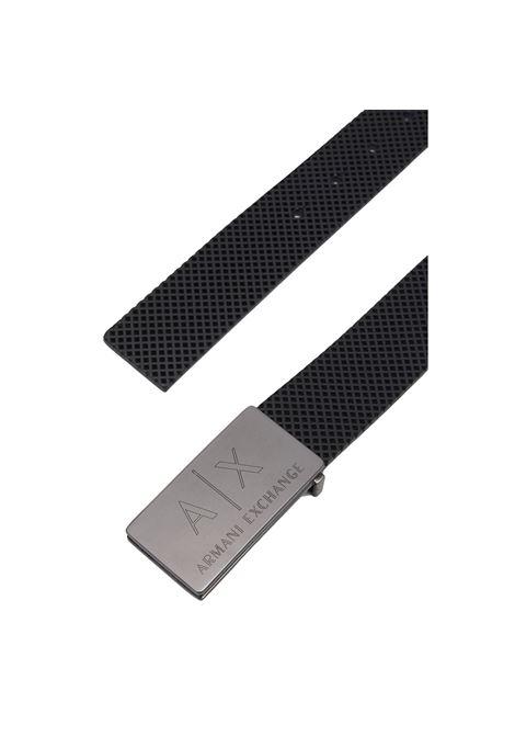 Belt with logoed buckle adjustable ARMANI EXCHANGE |  | 951280 1A81700020